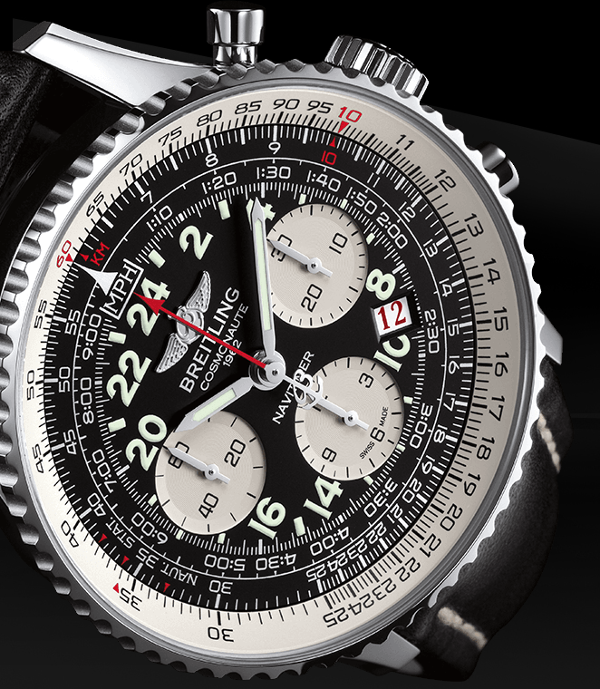 Functional Breitling Navitimer Cosmonaute Replica Watches With Screw-in Crowns