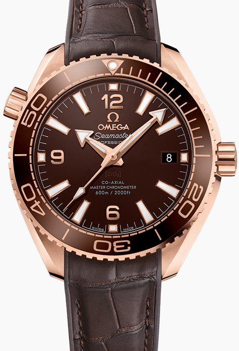 Functional Omega Seamaster Planet Ocean 600M 39.5MM Replica Watches With Screw-in Crowns