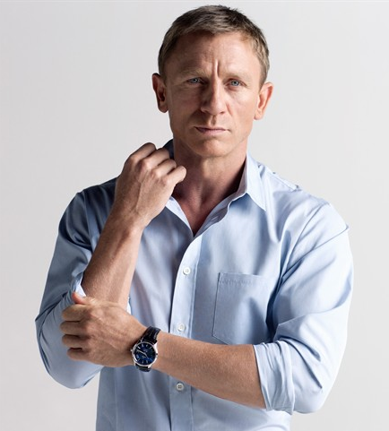 Blue Dials Omega De Ville Hour Vision Fake Watches By Daniel Craig
