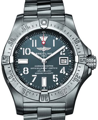Breitling Avenger II Seawolf Replica Watches With Arabic Numerals