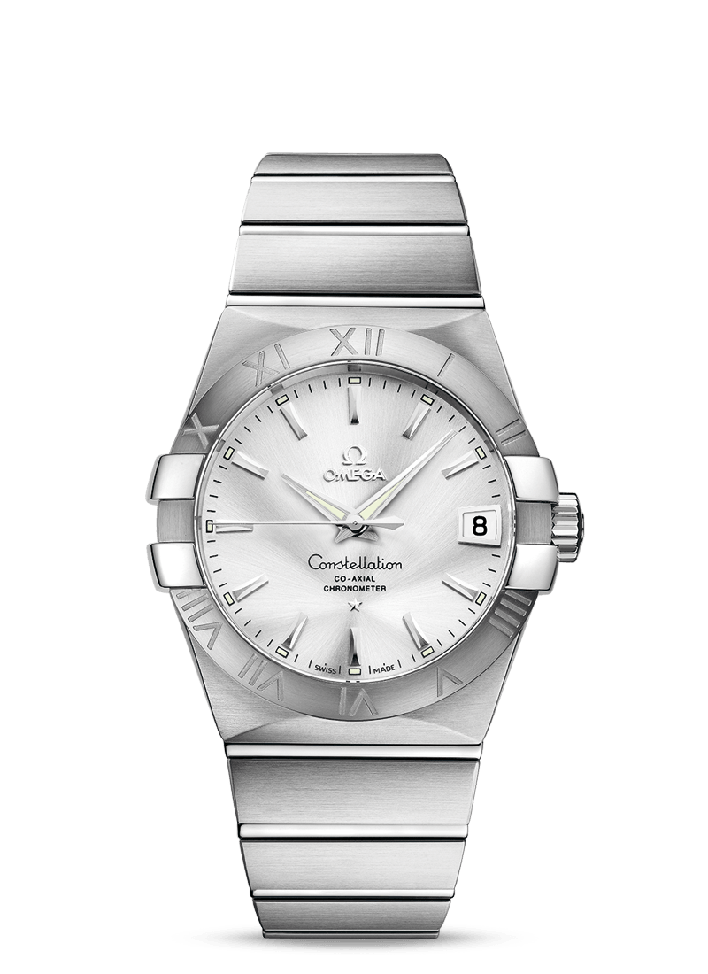 UK Omega Constellation Co-Axial Copy Watches With Silver Dials
