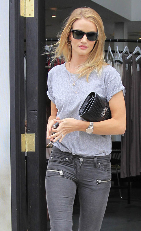 Cool White Dials Rolex Lady-Datejust 28 Copy Watches UK Sale For Rosie Huntington-Whiteley