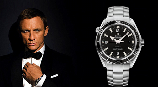 Daniel Craig Interpreted Black Dials Omega Seamaster Planet Ocean 600M Fake Watches Hot Sale