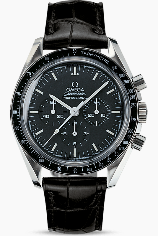 Replica Omega Speedmaster Moonwatches With Black Dials
