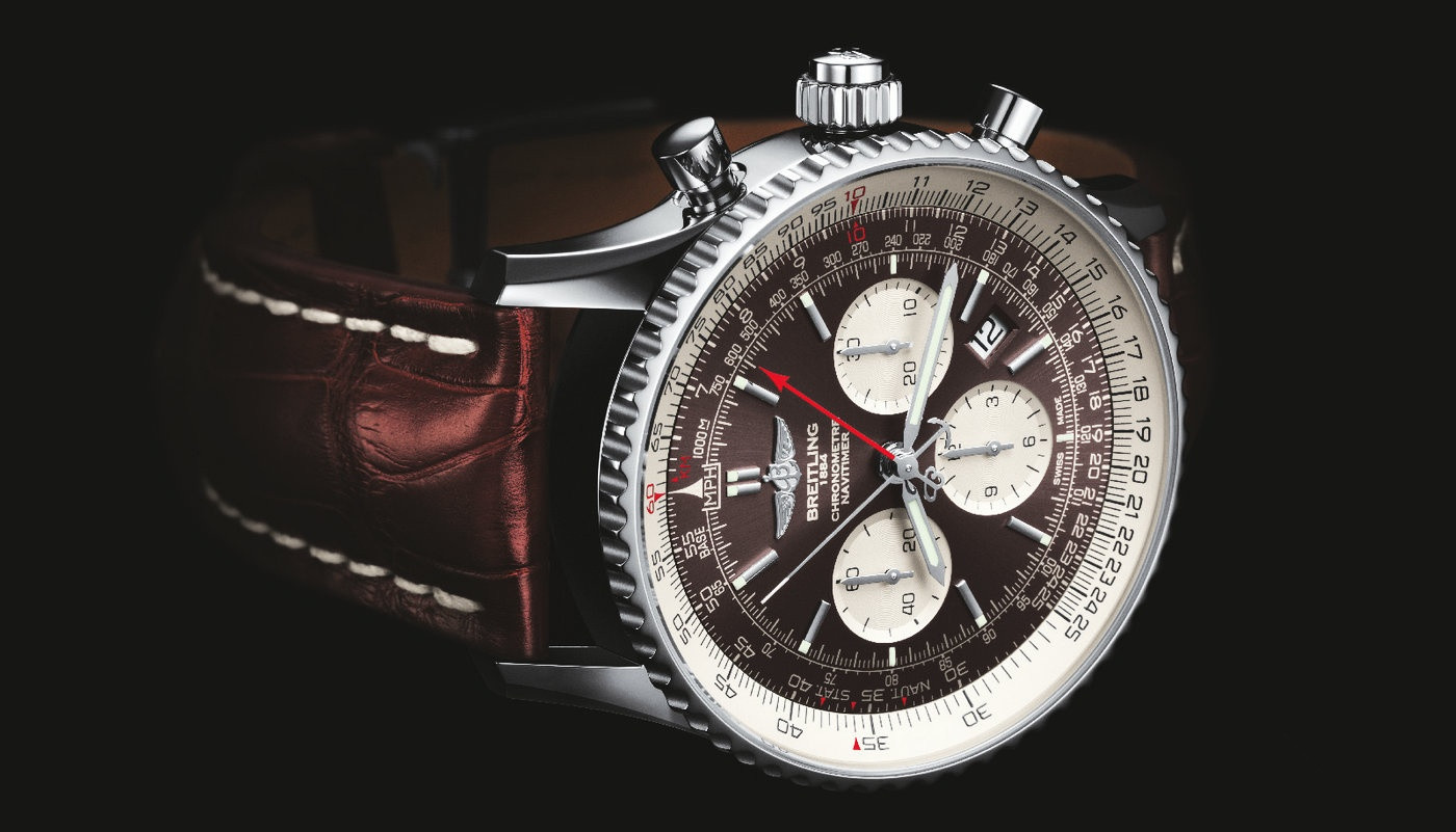 Breitling Navitimer Replica Watches With Steel Cases