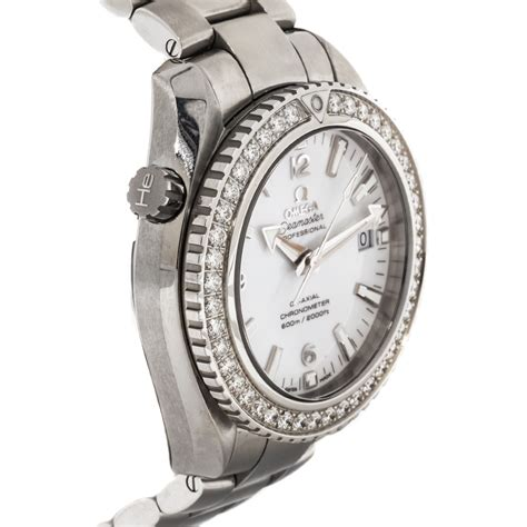 The steel timepieces have diamond bezels and delicate white dials, appealing to lots of modern women.