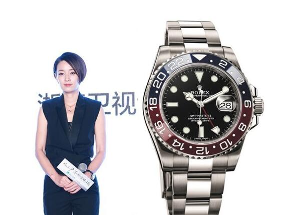 The GMT-Master II for men also fits the women perfectly.