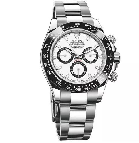 The iconic design of the Daytona has attracted many watch lovers besides the professional motorcycle racing drivers.