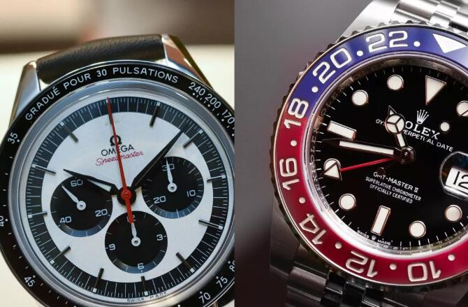 The two watches have been designed with the iconic bezels.