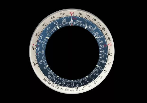 The fligh slide rule of Breitling Navitimer is complicated.