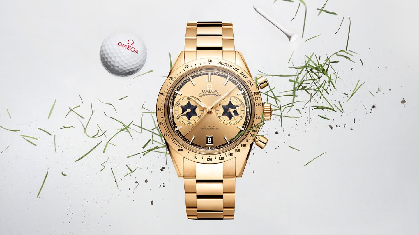 The special fake watches are made from 18k gold.