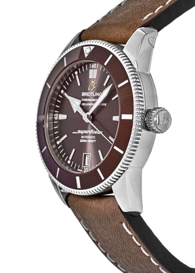 The brown straps fake watches have brown dials.